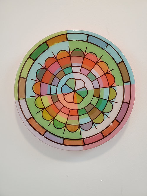 """Shelly Pinto: """"Kaleidoscope #11 (10 in circle)"""""""