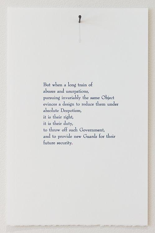 "Bri Murphy: ""Declaration Poem #3"""
