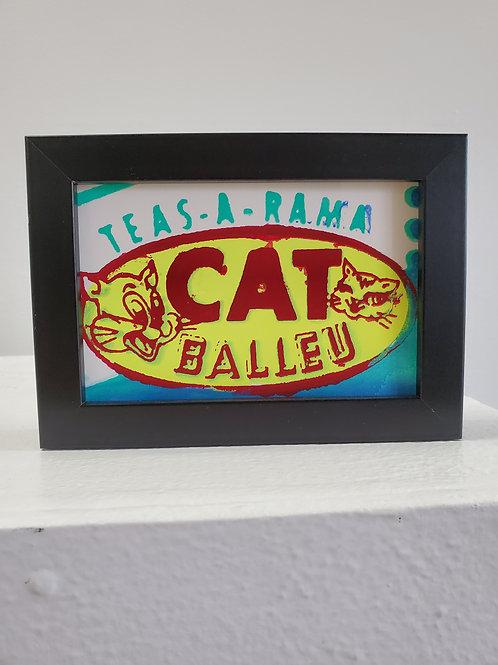 """Tj Templeton: """"Cat Balleu (double image mini 002)"""""""