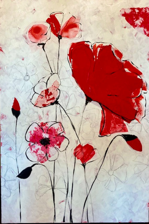 Dueling Poppies (1 of 2)