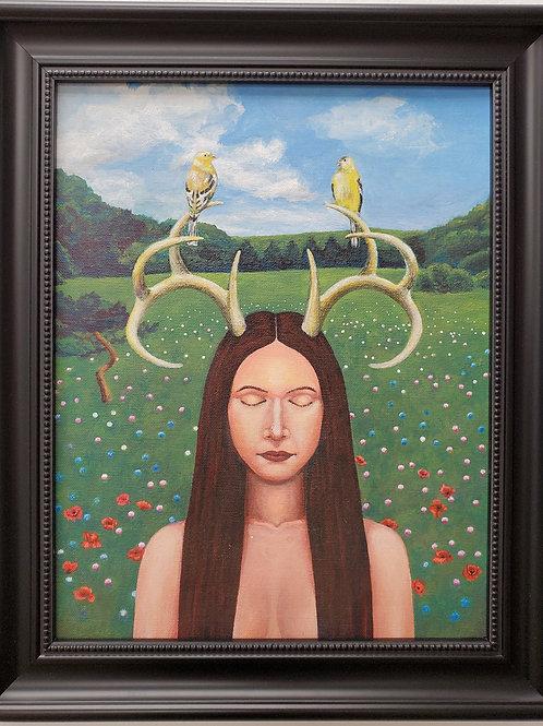 "Phillip Pursel: ""Pagan Woman"""