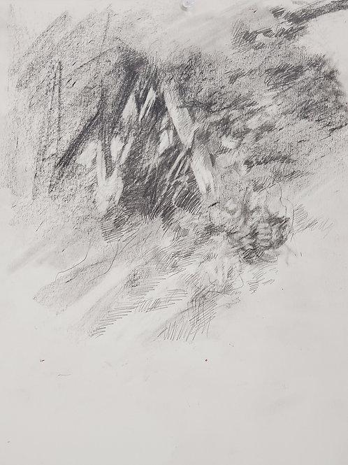 "Caleb Harman:  ""Drawing Along the Missouri River II"""
