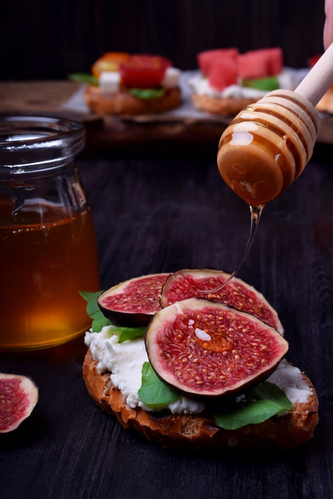 Figs and Honey Delicacy