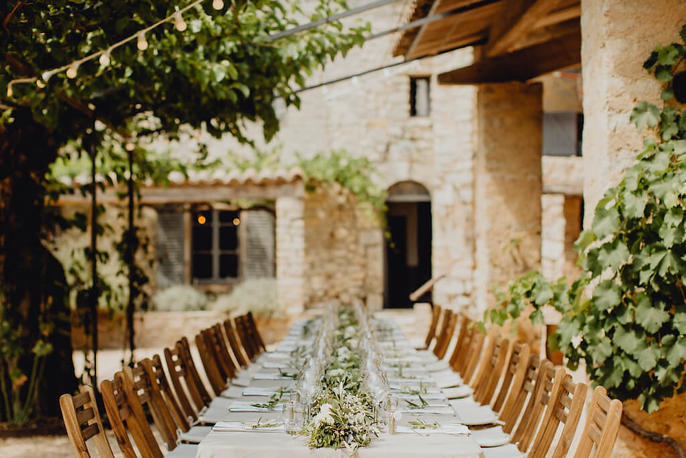 Provençal Garden Lunch
