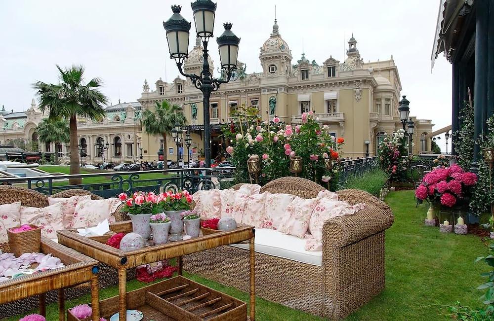 Monte Carlo Casino Garden (Hotel de Paris)