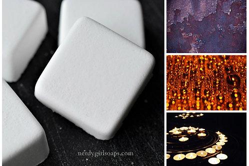 """Black Amber & Lavender- """"Clear"""" Shower Steamer"""