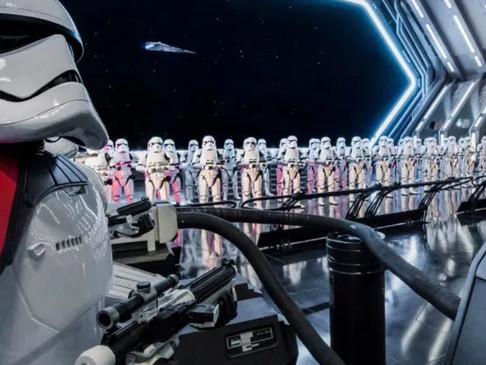 Assista a atração Star Wars: Rise of the Resistence