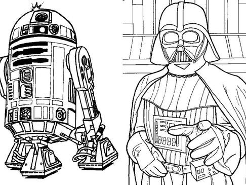 Desenhos para colorir de Star Wars
