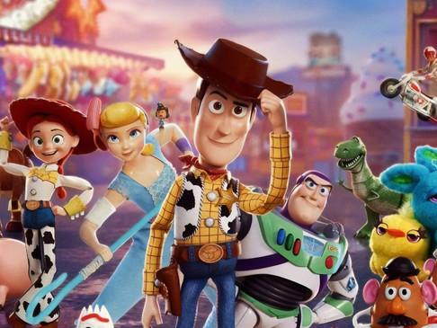 Atividades mágicas de Toy Story
