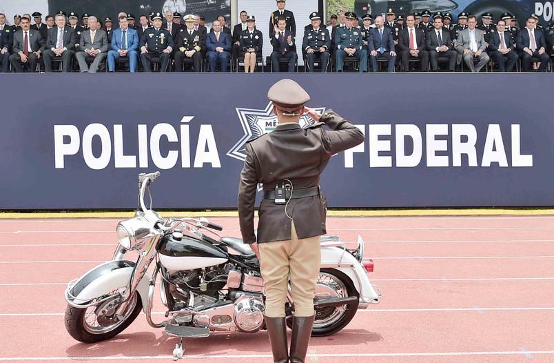 Celebra @EPN Día del Policía Federal