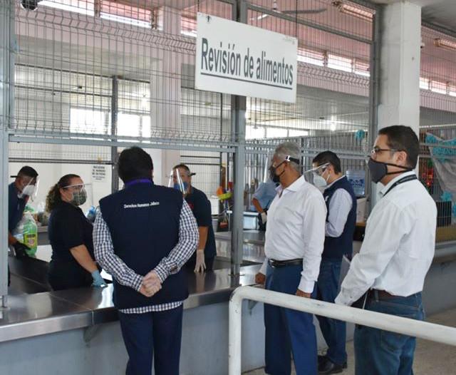 Visita CEDHJ reclusorios de Jalisco verifica condiciones óptimas