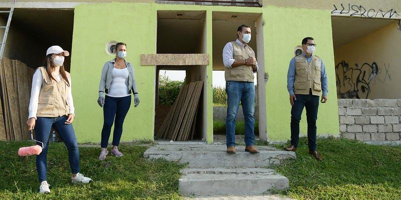 Protegen 21 casas deshabitadas en el fraccionamiento La Noria