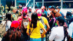 En Puebla, entra ejército a Balcones del Sur a intimidar