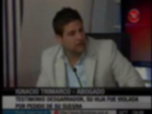 Abogado penal Ignacio trimaro en televisión Canal 26