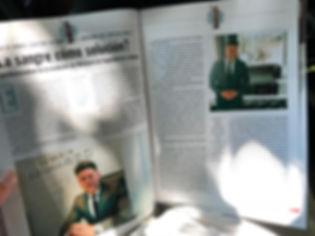 Nota al abogado Ignacio Trimarco en Revista Noticias