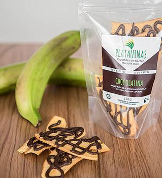 craquelins sans gluten chocolat plantain