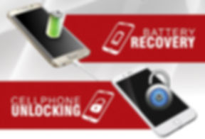 Cell phone and tablet battery recovery and unlocking