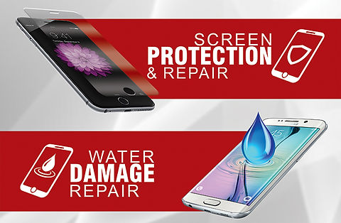 Cell phone and tablet screen and water damage repair