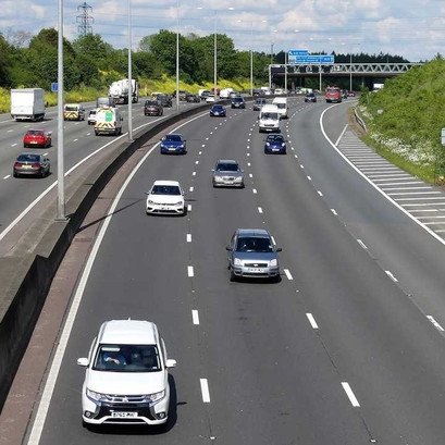 The M25, Southbound
