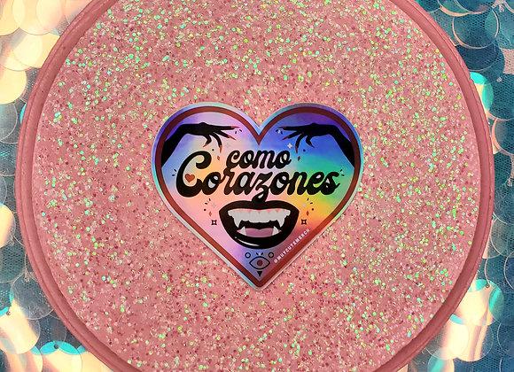 Como Corazones Sticker