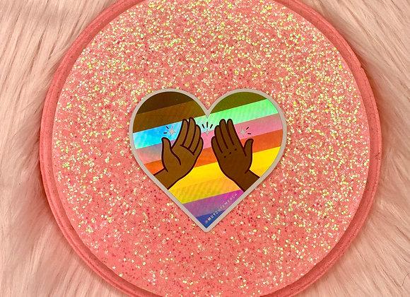 High 5 For Pride Sticker
