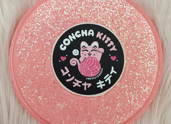 Concha Kitty Sticker