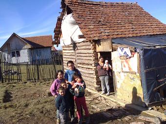 Encore l'hiver en Roumanie