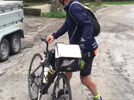 J4 Jean-Daniel à vélo #Hope360