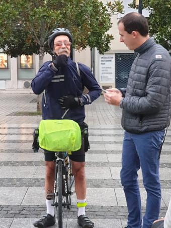 Ecquevilly-Valence à vélo! #hope360