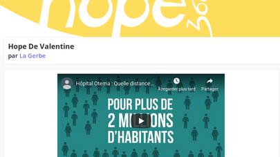 Hope 360: Dernière ligne droite
