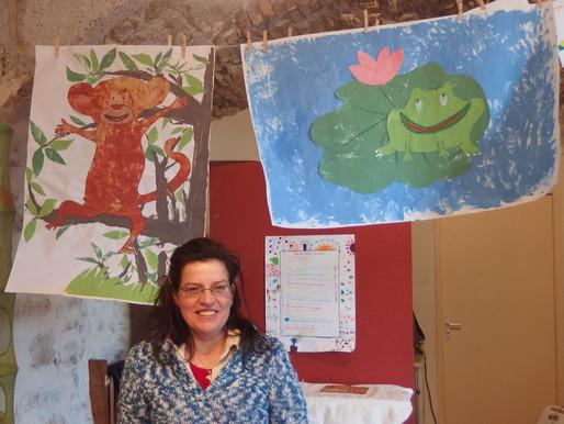 Atelier peinture pour les tout-petits
