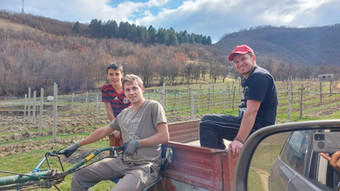 Insertion par l'agriculture à la Vallée de la Grâce