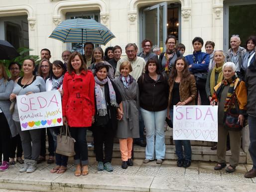 La solidarité se poursuit pour Seda