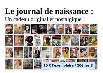 Insolite : Le Paris Match de votre semaine de naissance