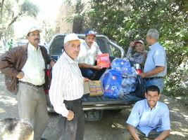 Rentrée 2011: distribution de matériel