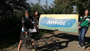 J4 Jean-Daniel à vélo #Hope360 ARRIVÉE!