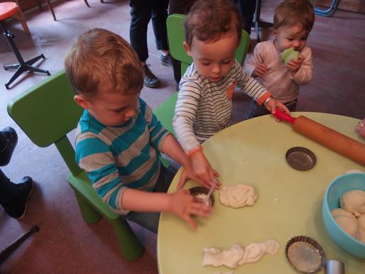 Atelier créatif pâte à sel