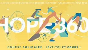 Hope 360 : un événement le 9 octobre, un engagement dès le 3 juin!