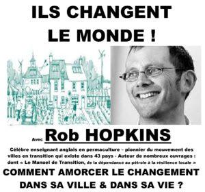 Conférence Rob HOPKINS, initiateur des villes en transition