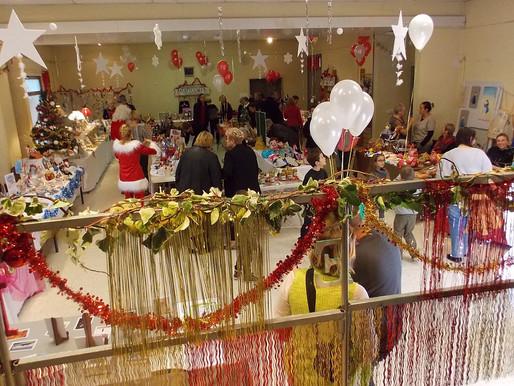 Lézan : un marché de Noël chaleureux