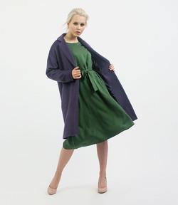 Ultra Violet overcoat