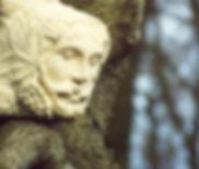 Simon Keeley - Stone Carver-Green Lady