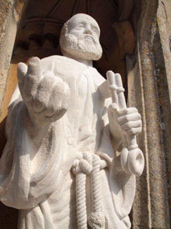 Simon Keeley - Stone Carver - St Peter