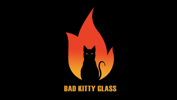 Teresa Soito -Bad Kitty Glass