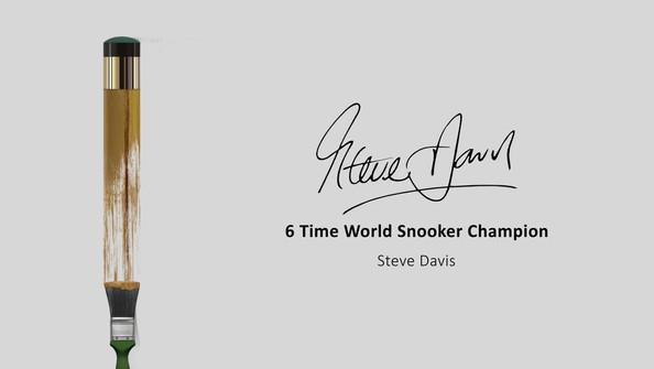 Steve Davis - World Snooker Champion
