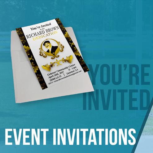 Event Invitations