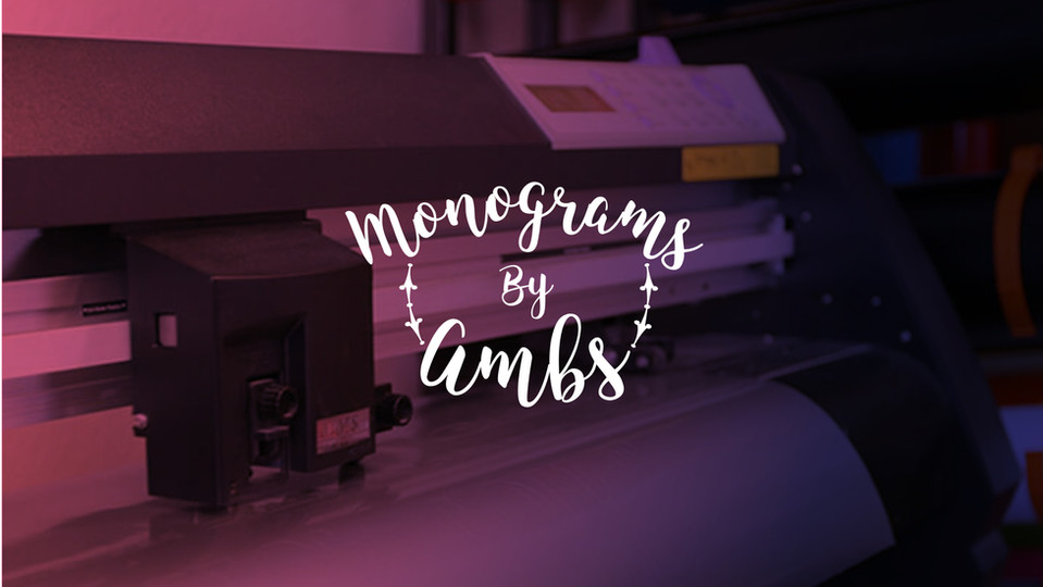 Monograms by Ambs Logo