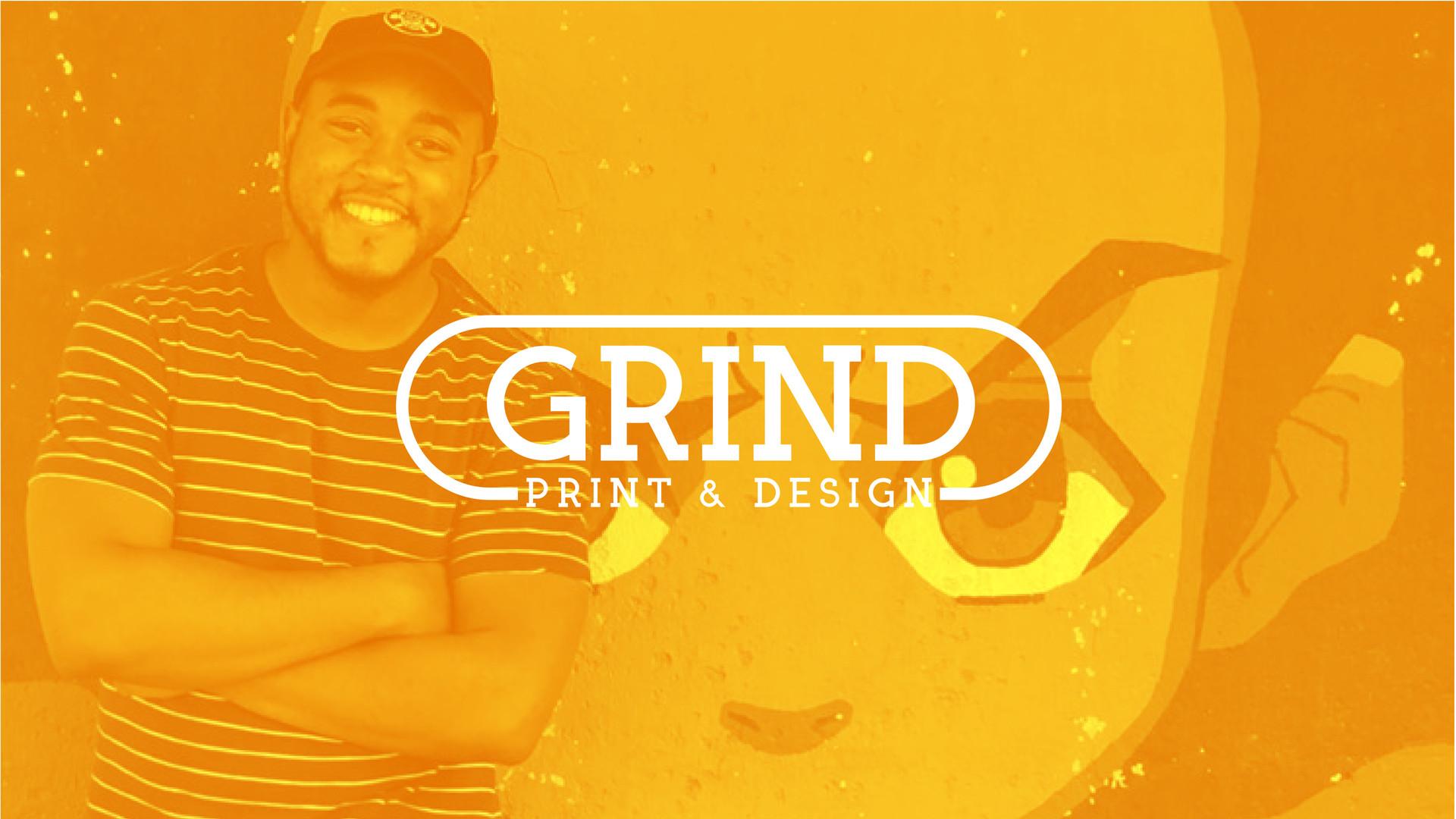 Grind Print & Design Logo