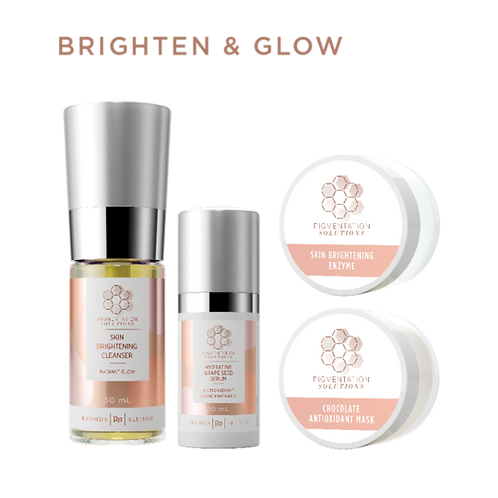 Rhonda Allison Brighten & Glow At-Home Kit