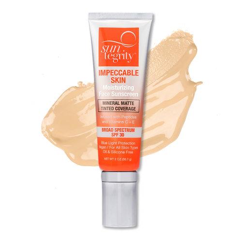 Suntegrity Impeccable Skin Moisturizing Face Sunscreen SPF 30 - Buff - 2 oz